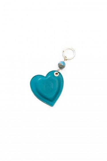 KEY RINGS EMILIE COL. TURQUOISE