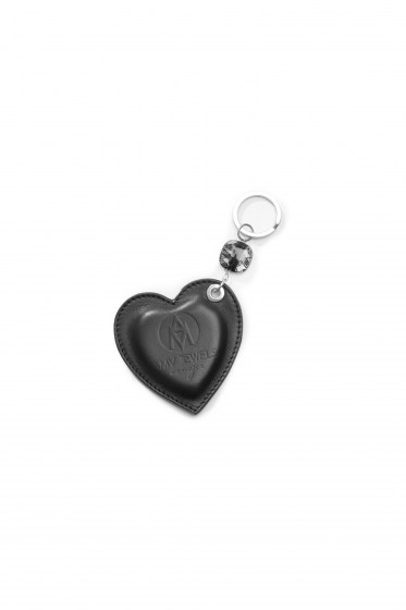 KEY RINGS EMILIE COL. BLACK