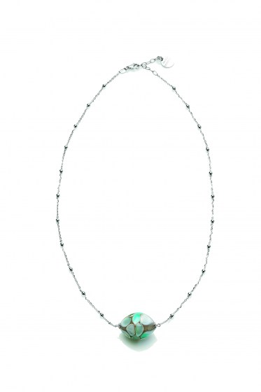 NECKLACE SMERALDA STERLING SILVER CHOCKER