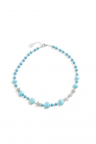 NECKLACE MARINE CHOCKER  (49-53,5cm)