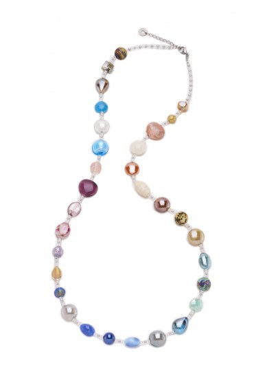 COLLANA LUNGA RAINBOW MULTICOLOR