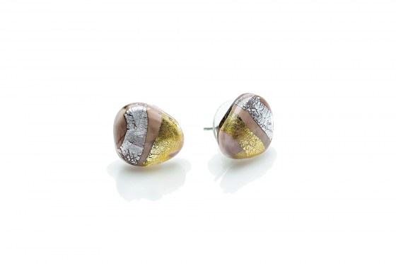 EARRINGS MORETTA CABOCHON C