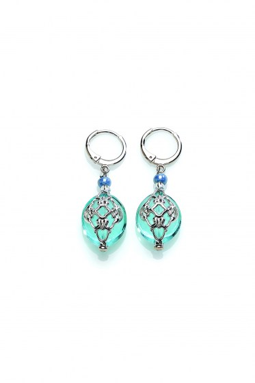 EARRINGS FLORINDA DANGLING P
