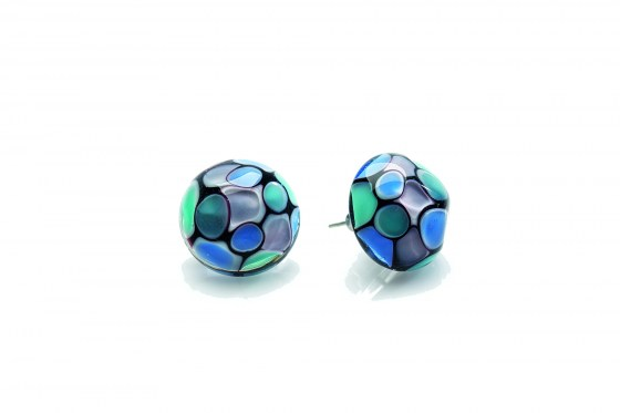 EARRINGS SMERALDA CABOCHON C